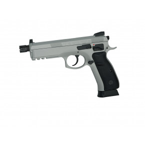 ASG Branded KJ Works CZ 75 SP-01 Shadow GBB Pistol - Urban Grey