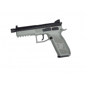 ASG Branded KJ Works CZ P-09 GBB Pistol - Urban Grey