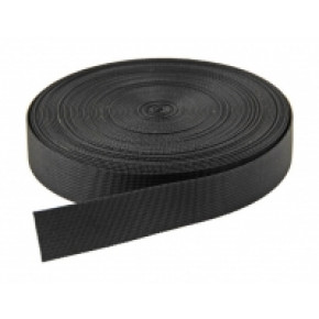 40mm Webbing - Black (per metre)
