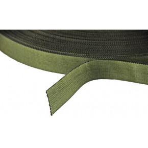 25mm Olive nylon webbing - 1 metre