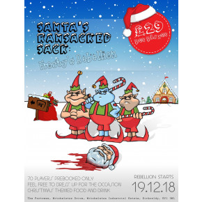 The Fortress - Santa's Ransacked Sack, Frosty's Rebellion - 19th December 2018 - Xmas Special Event!