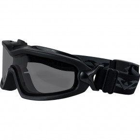 Valken V-Tac Sierra Goggles - Black / Smoke