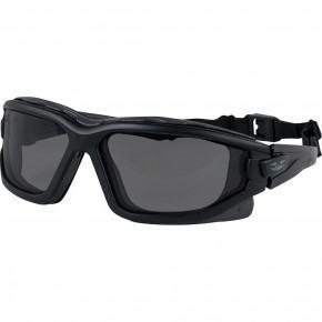Valken V-Tac Zulu Goggles - Black / Smoke