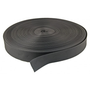 50mm Nylon webbing Black - 1 metre