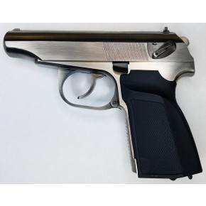 "WE 654K ""Makarov"" Russian Airsoft Pistol - Silver"