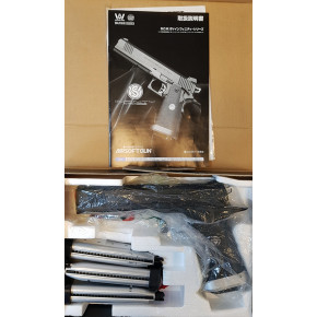 """Pre-Owned 6"""" W.A. (Western Arms) SV Infinity Classic S Airsoft Pistol"""