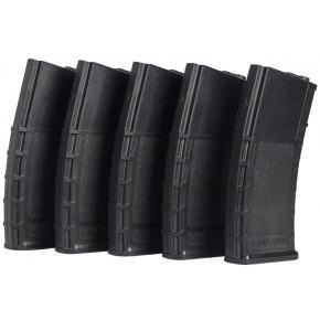 Valken RMag 140rd M4 Mid-Cap (Black) Magazines - 5/Pack
