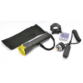Valken LED Flashlight with Mount, Filter & Pressure Switch