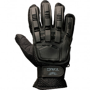 Valken V-TAC Full Finger Plastic Back Gloves