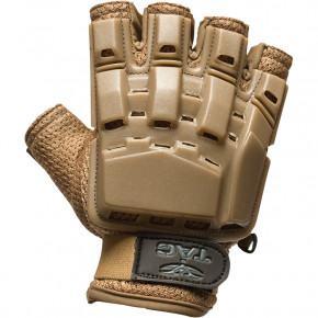 Valken V-TAC Half Finger Plastic Back Gloves