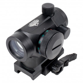 VALKEN V Tactical Red Dot 1x22 R/G/B Dual with Weaver QR