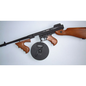 CYMA CM.051 M1928 Thompson Airsoft AEG - (Chicago Typewriter) Full Metal Upper and Faux Wood