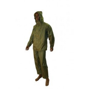 Tempest Waterproof Suit in Olive-Small
