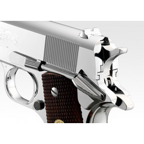 Tokyo Marui Colt Government 1911 Mk IV Series 70 Airsoft Pistol - Nickel