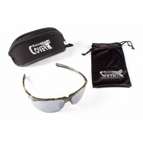 CoverT Pro 724 Ballistic Glasses - Standard Set - Green Camo