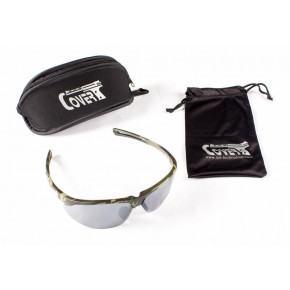 CoverT Pro 724 Ballistic Glasses - Standard Set - Green Camo