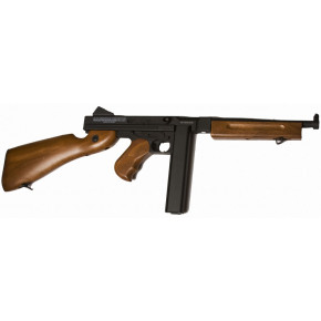 Cybergun Branded CYMA M1A1 Thompson sub-machine gun with Two Magazines!