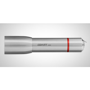 Coast A25R Stainless Steel Rechargeable Torch Kit