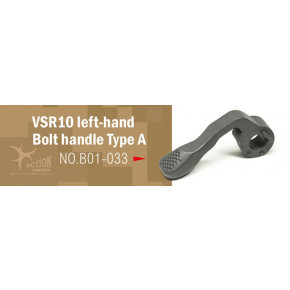 Action Army LEFT HAND Steel Bolt Cocking Lever for Tokyo Marui VSR Series Rifles