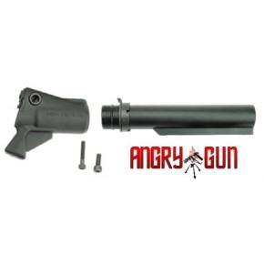 Angry Gun CNC Gas Tank Stock Kit for the Tokyo Marui M870 Shotgun