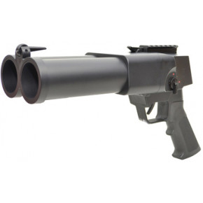 S-Thunder DOUBLE BARRELED Composite Grenade Launcher - Long