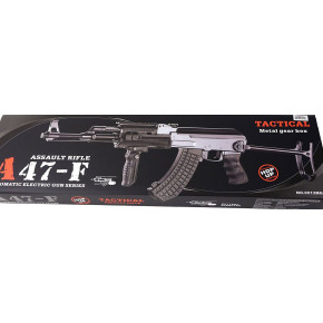 Jing Gong (JG) AK47-S Tactical Folding Stock Airsoft Rifle