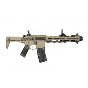 "ARES Amoeba ""Honey Badger"" AM-013 Airsoft Rifle - Tan"