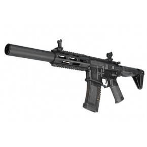 "ARES Amoeba ""Honey Badger"" AM-014 with Extended Suppressor Airsoft Rifle - Black"