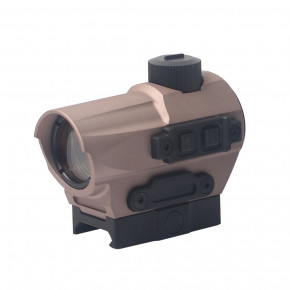 Aim-O DI Optical SP1 Red Dot Reflex Sight - Dark Earth