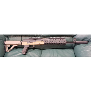 VFC BO Dynamics BO AK Patriot Blow-Back Airsoft Rifle - Tan (FDE)