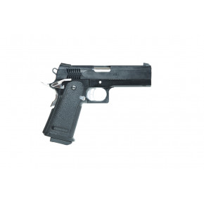A.W.E. 4.3 Hi Capa STI Custom - CNC and Steel construction - Black Frame/Black Slide/Black Sights
