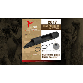 Action Army VSR One-piece Upper Receiver