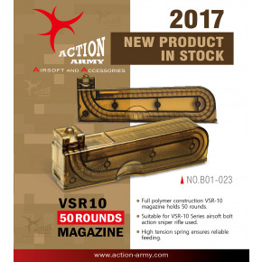 Action Army Tokyo Marui VSR-10 magazine 50rd