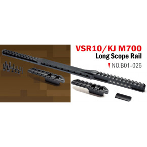 Action Army VSR & KJ M700 Long Scope Rail set