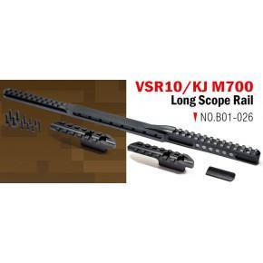 Action Army VSR & KJ M700 Long Scope Rail set