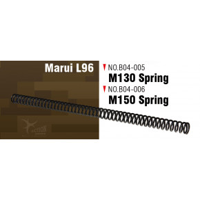 Action Army M150 Upgrade Spring for the Tokyo Marui L96 Series Rifles