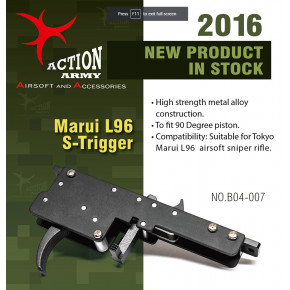 Action Army Specialised Trigger Group for Tokyo Marui L96 Rifles
