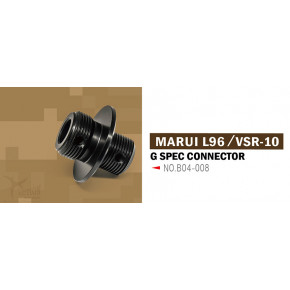 Action Army Suppressor Adaptor for Tokyo Marui L96 / VSR G-Spec Series Rifles