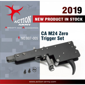 Action Army Specialised Zero Trigger group for CA M24 rifles