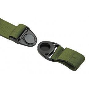 SAG GEAR MOLLE leg panel - Olive - Left Hand