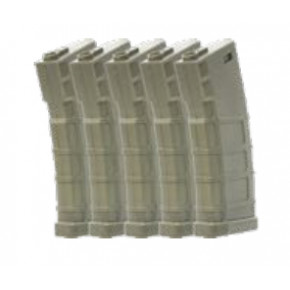 Bolt BMAG 140rd M4 Mid-Cap (Green) Magazines - 5/Pack