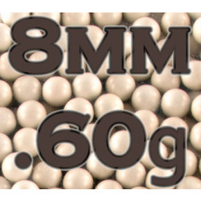 8mm Precision BBs 0.60g (1000)