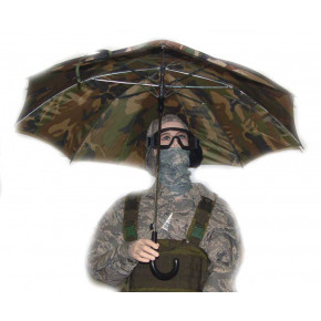 Camo Umbrella - Err, sunshade!