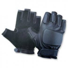 CoverT Leather Fingerless Gloves - Padded Knuckles