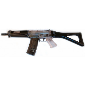 Two-Tone Sig 552 Commando Airsoft Rifle BB Gun - Spring Cocking