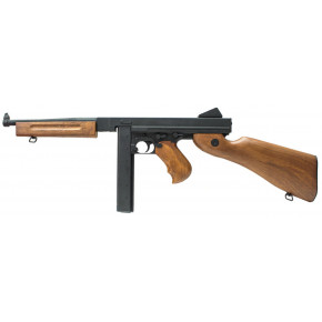 CYMA CM.033 M1A1 Thompson Sub-Machine Gun AEG Airsoft Rifle
