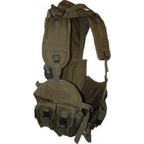 Covert Hydration Assault Vest - Black