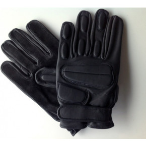 CoverT Leather Rappel Gloves - Knuckle Protection Extra Large