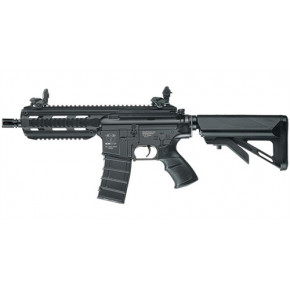 ICS CXP16 Black Short Metal Airsoft Rifle AEG