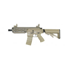 ICS CXP16 Tan Short Plastic Airsoft Rifle AEG